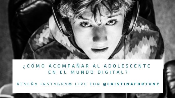 adolescentes en el mundo digital